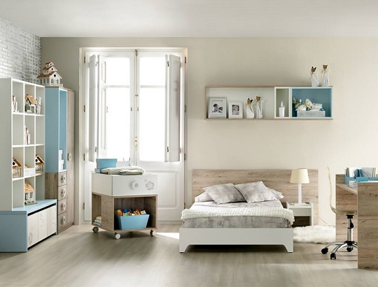 Muebles bebe cunas convertibles ros mini mamidecora for Muebles convertibles