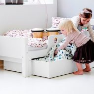 Cama infantil Junior de FLEXA White