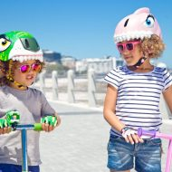 Cascos infantiles muy divertidos de Crazy Safety