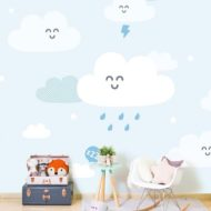 Papel pintado y murales infantiles Mr. Wonderful