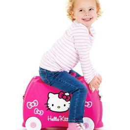 Trunki Hello Kitty, una maleta para niñas divertida y a todo color