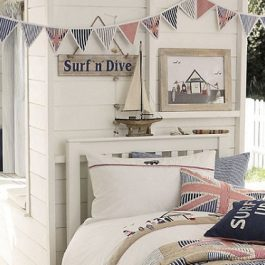 Decoración infantil, estilo British