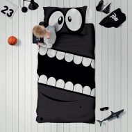 Edredones infantiles reversibles, Sleepy Monster
