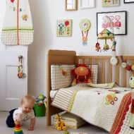 Textiles para dormitorio infantil Mamas and Papas, Jamboree