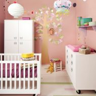 Muebles infantiles en color blanco de Kids Factory