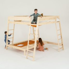 Cama infantil multiusos Altezza de Mathy by Bols